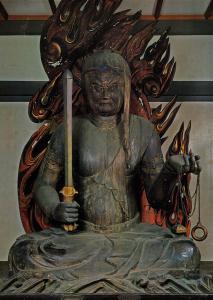 不動明王坐像